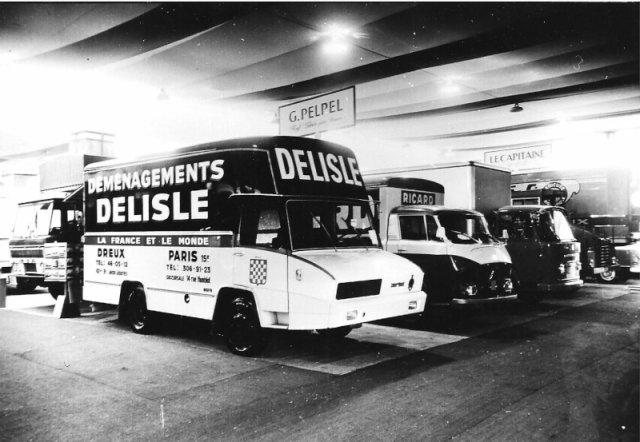 1966 Berliet Stradair avec capucine du déménageur DELISLE