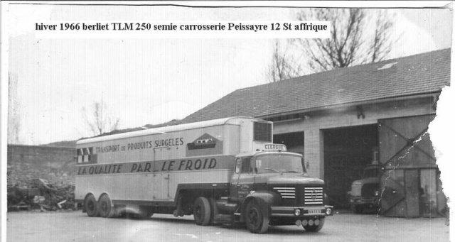 1966 Berliet TLM 12 250 cv des Trps Clergue