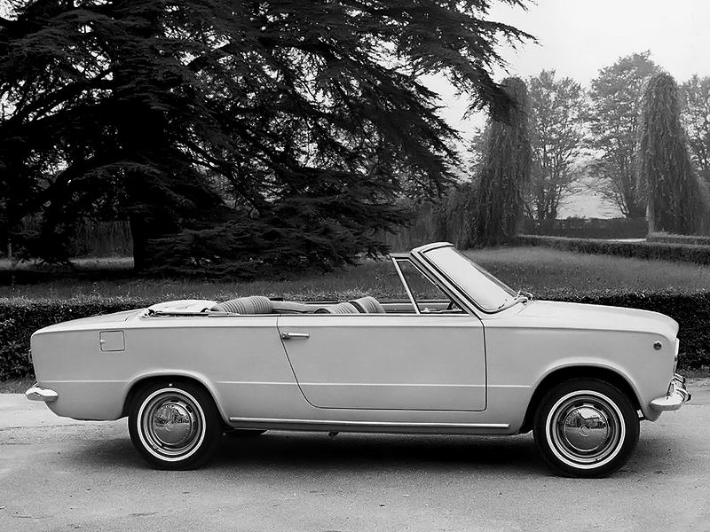 1966 Fiat 124 Cabriolet