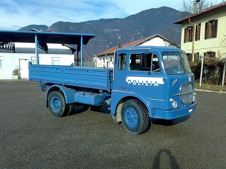 1966 FIAT 643N truck