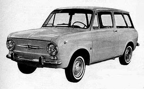 1966 Fiat 850 caprera stationwagon