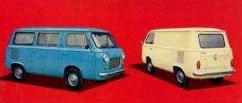 1966 Fiat T600 Van Brazi Market
