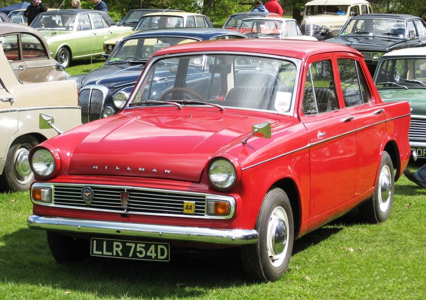 1966 Hillman_Minx_series_VI_1725_cc_reg_april_1966