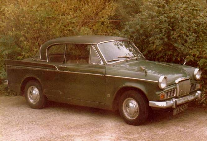 1966 Sunbeam Rapier Series V Metallic Green