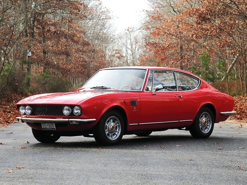 1967-69 Fiat Dino Coupe Bertone