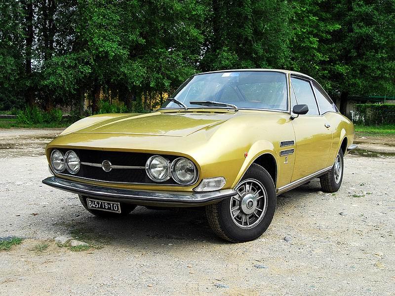 1967-71 Fiat 125 GS 1.6 Moretti