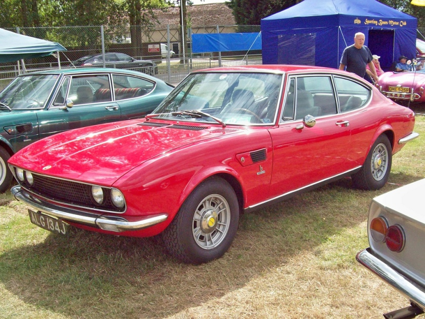 1967-73 Fiat Dino Coupe Engine 2418cc V6