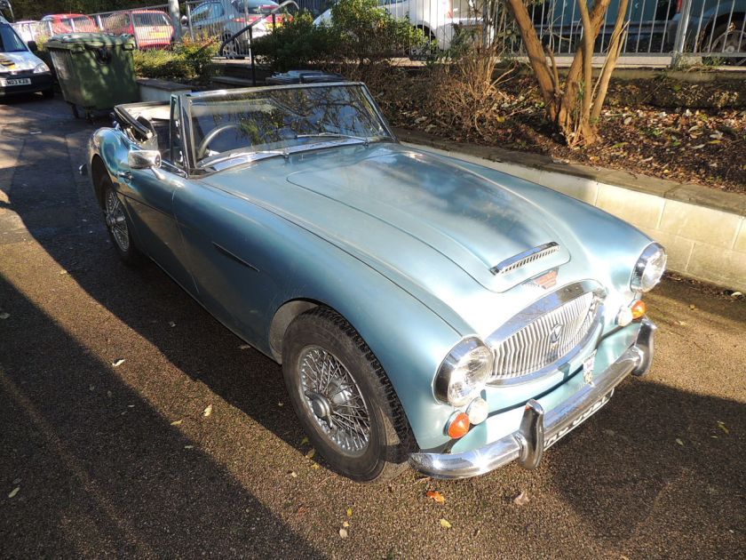 1967 Austin-Healey 3000 Mark III (DVLA) first registered 24 November, 2912cc