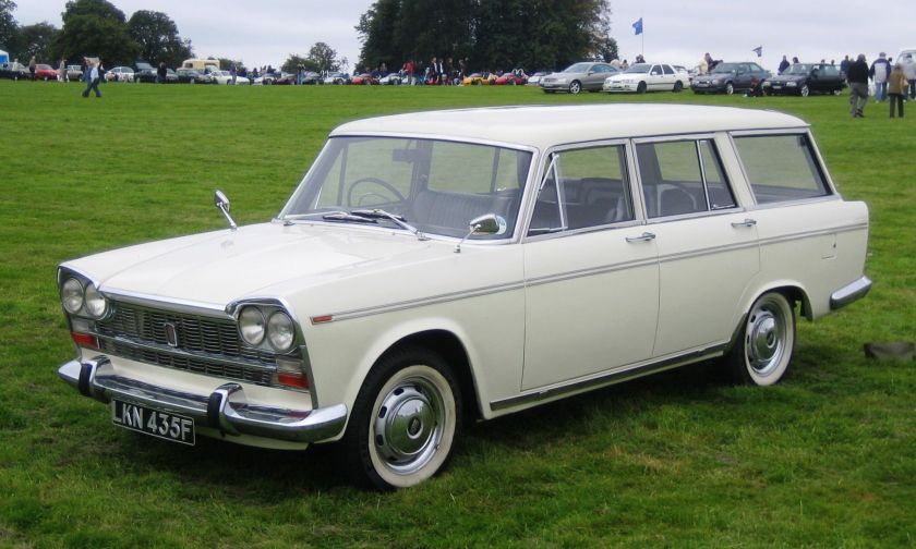 1967 Fiat 2300 Estate in UK