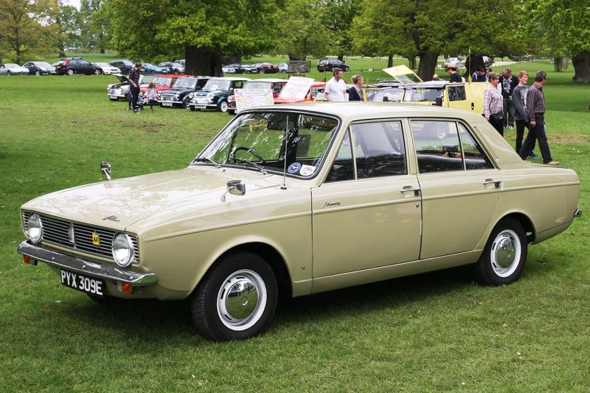 1967 Hillman_Minx_registered_July_1967_1496cc