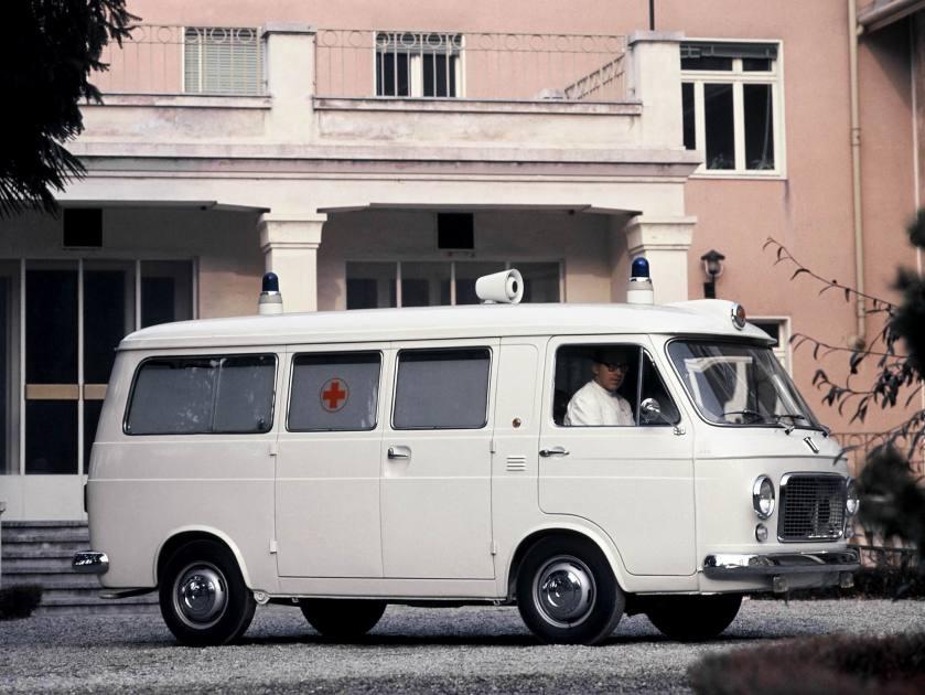1968-78 Fiat 238 Ambulance