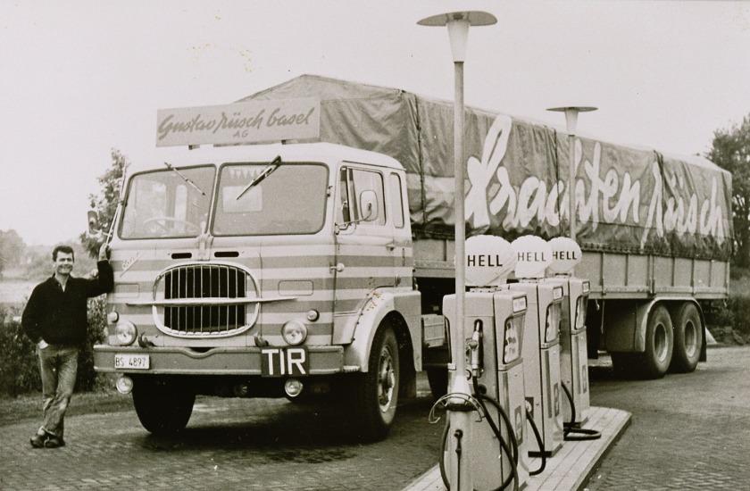 1968 Fiat Basel Zwitserland