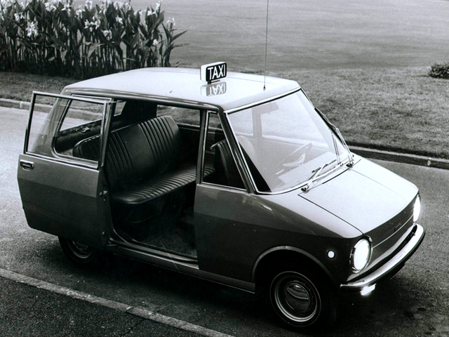 1968 Fiat City Taxi Prototype