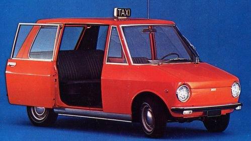 1968 Fiat citytaxi
