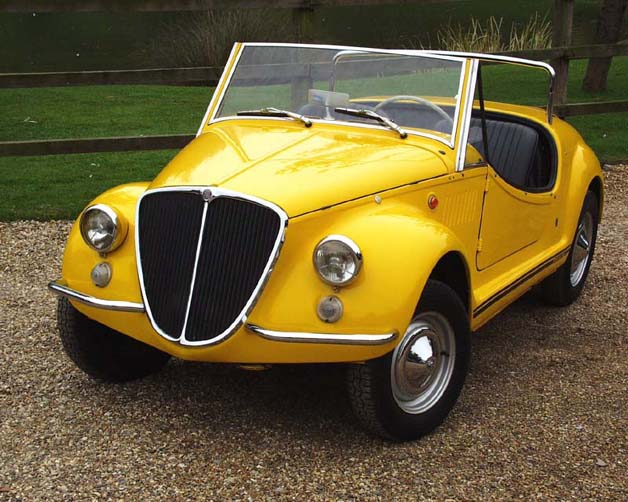 1968 Fiat Gamine-yellow