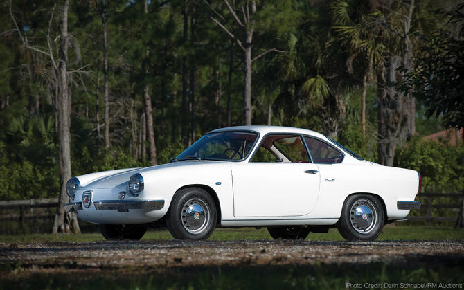 1969 Allemano Abarth 850 Coupe