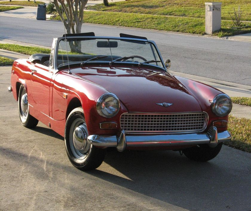 1969 Austin-Healey Sprite Mark IV