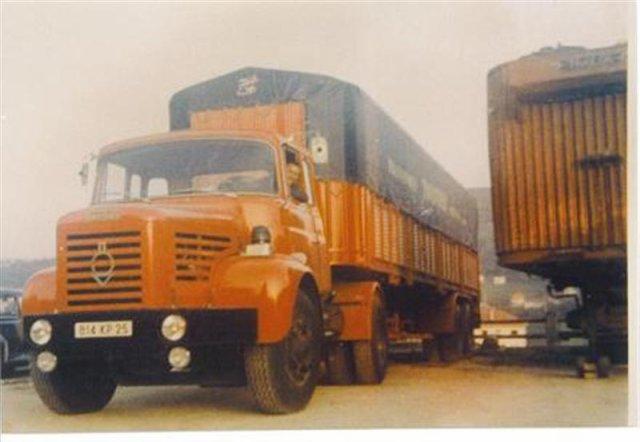1969 Berliet TLM 12 M 3, 6 cyl, 250 cv