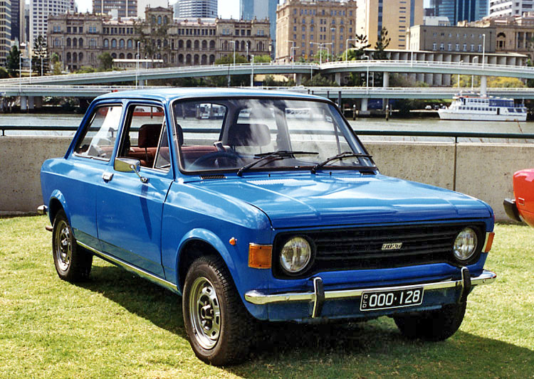 1969 Fiat 128 2 door Graham Ruckert
