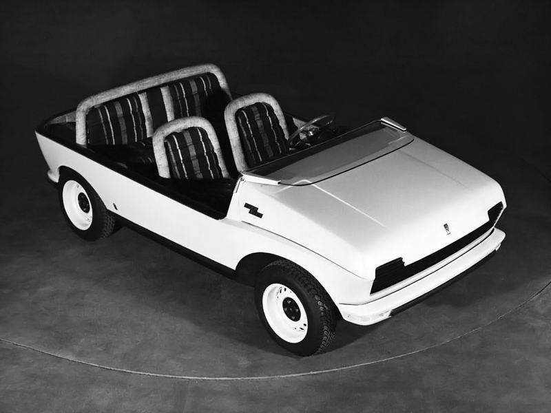 1969 Fiat 128 Teenager