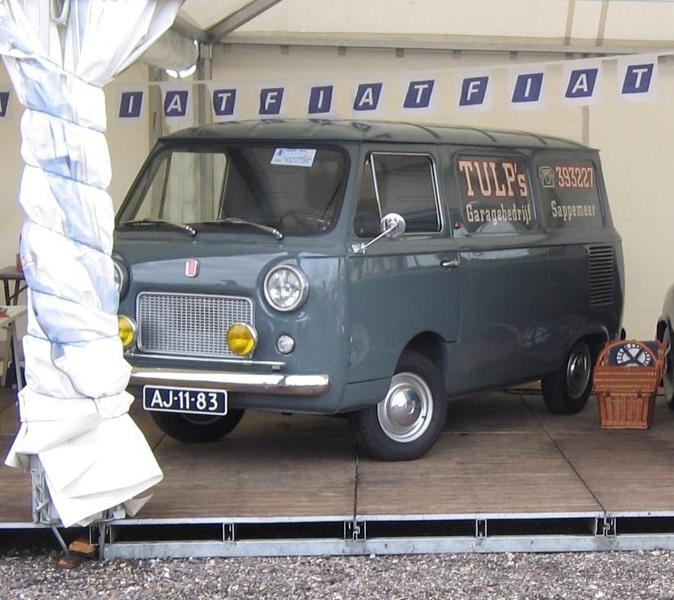 1969 FIAT 600 T  AJ-11-83