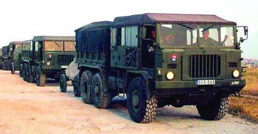 1969 FIAT-6605N (TM69), 6x6