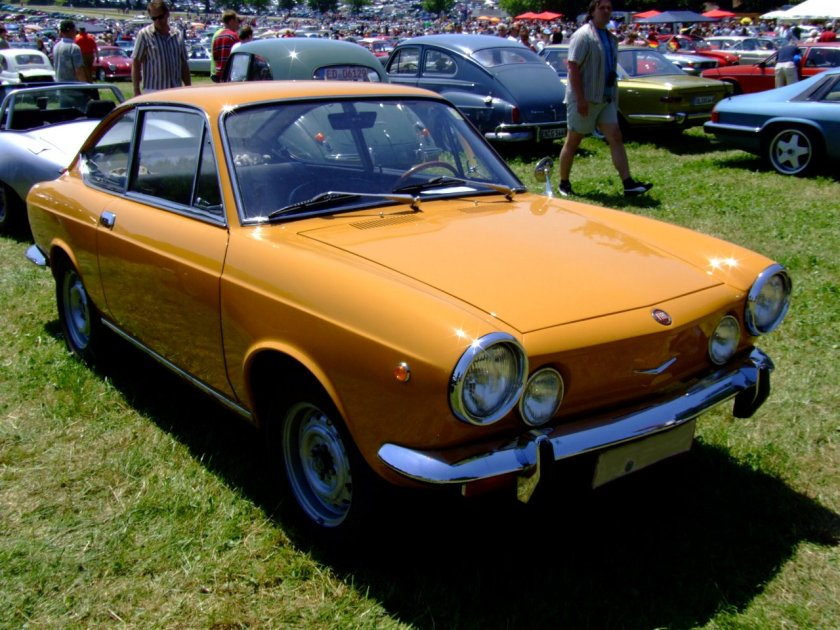 1969 Fiat 850 Coupé