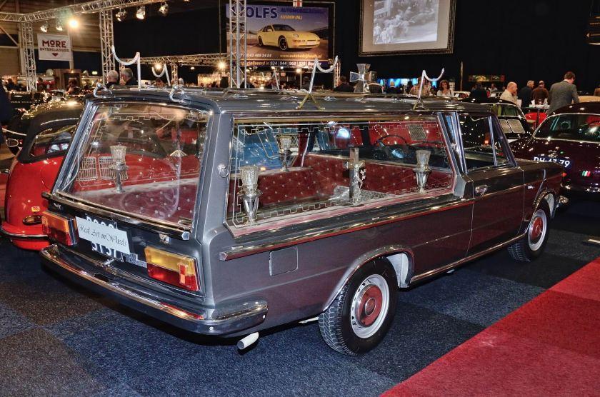 1970 Fiat 125 Special hearse by Pilato 1970