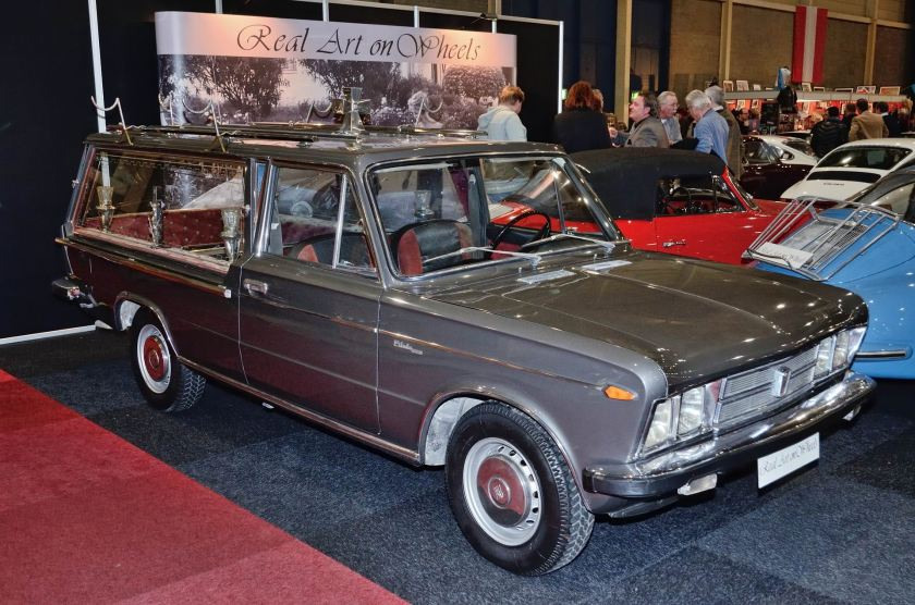 1970 Fiat 125 Special hearse by Pilato a