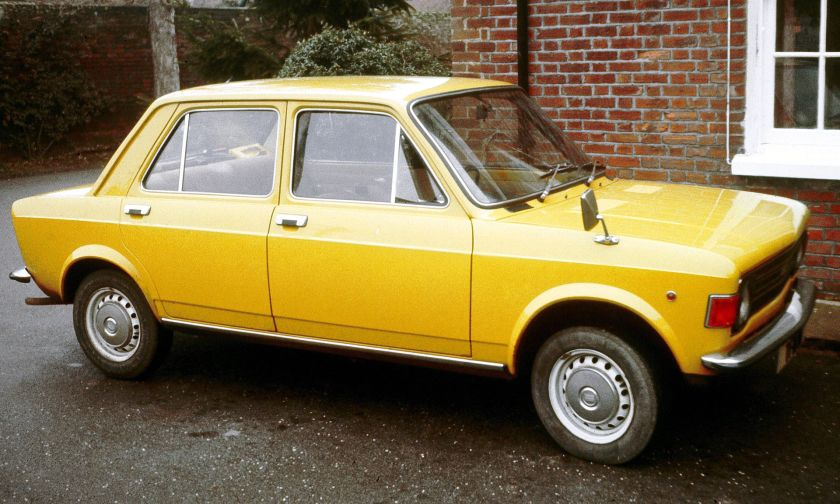 1970 Fiat 128 Kent UK