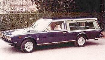1970 Fiat 130 casale hearse