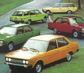 1970 Fiat 131 Mirafiori