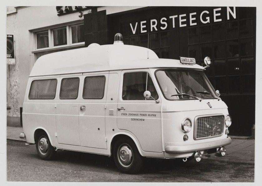 1970 FIAT 238 Streekziekenhuis Pr Beatrix Gorinchem