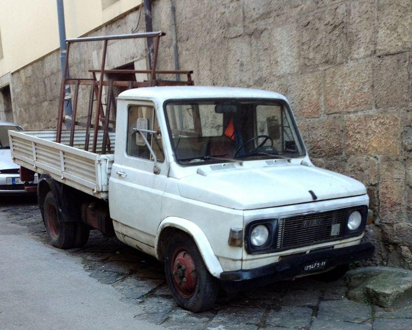 1970 Fiat 616 pick-up truck