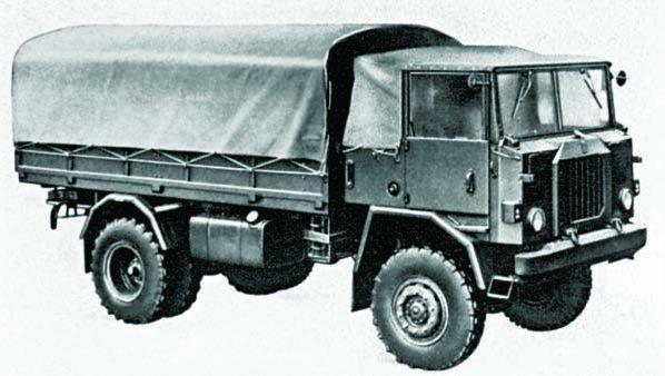 1970 FIAT-6602 (СР70), 4x4
