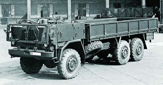 1970 FIAT-6607 (СР70), 6x6