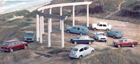 1970 Fiat era la mas completa de Argentina Linea-