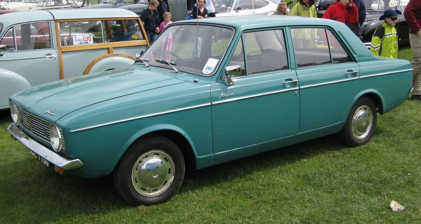 1970 Hillman_Minx_Arrow_type_near_Biggleswade