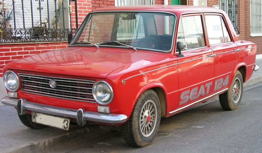 1970 SEAT 124