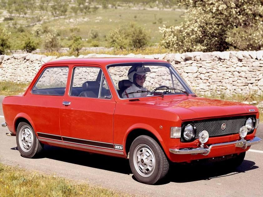 1971-72 Fiat 128 Rally