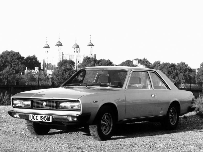 1971-78 Fiat 130 Coupe UK-spec