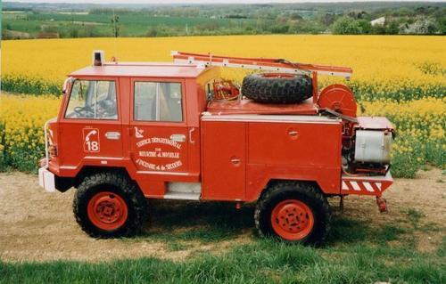 1971 Berliet Pompiers FF 415