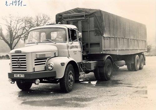 1971 BERLIET TLM 10 M 4 de 280 cv
