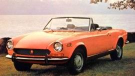 1971 Fiat 124 Sport Spider