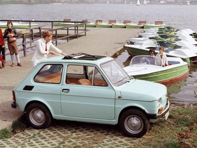 1972-76 Fiat 126 Sonnendach