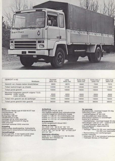 1972 BERLIET GR Cabine KB2400