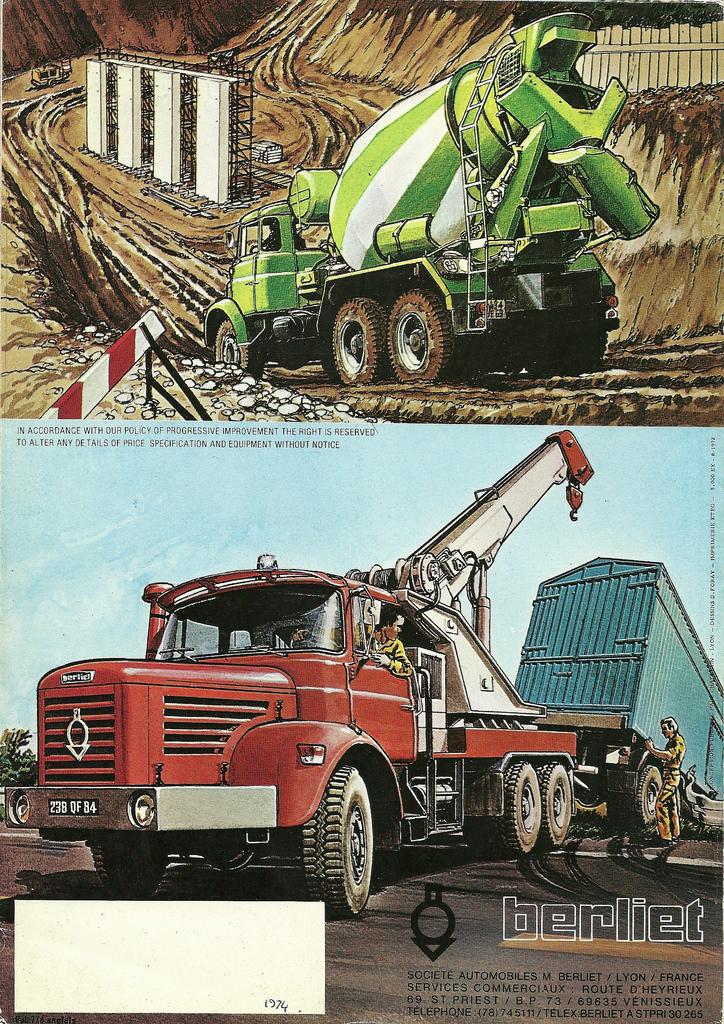 1972 Berliet