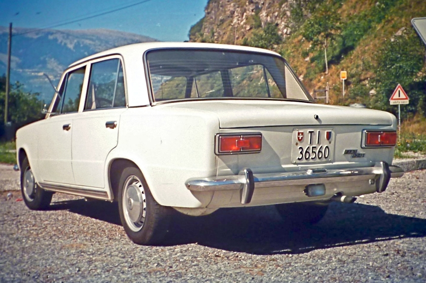 1972 Fiat 124 S