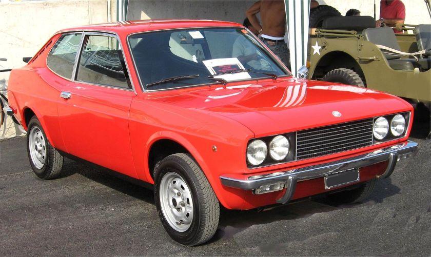 1972 Fiat 128 Sport Coupé SL 1100