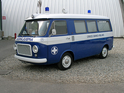 1972 FIAT 238 AMBULANSA